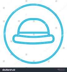 Classic Sticker Design Vintage Fashion Hat Classic Sticker Design Stock Vector
