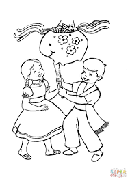 Small Picture Christmas In Mexico coloring page Free Printable Coloring Pages