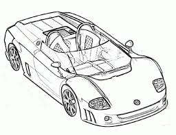 Coloring Pages Sports Car Coloring Pages Page Race Free Printable