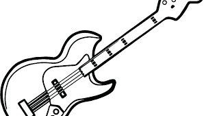 guitar coloring pages to print a7451 guitar coloring page bass pages electric hero electric guitar coloring