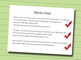 10 How To Format Works Cited Page Mla Proposal Sample