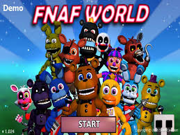 five nights at freddy s world