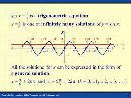 solving trigonometric equations digital lesson 2 copyright