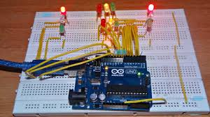Ho Scale Traffic Light Controller Arduino Traffic Light Controller