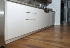 laminate flooring in modern kitchen