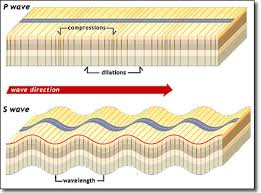 Earthquake Seismic Waves As Body Waves And Surface Waves