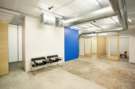 loft office space sustainable office ti in loft warehouse building off the shelf budget details finishes bright modern office space