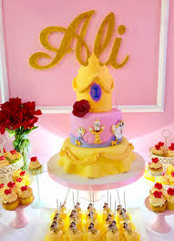 beauty and the beast birthday party