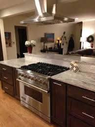 oven in island. Interior: Kitchen Island With Oven And Cooktop Chesalka Stove In O