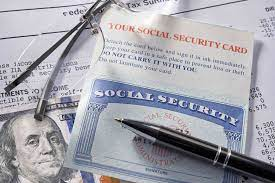 replace or update your social security id