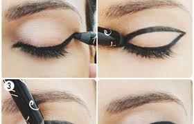 black eyeshadow makeup using glitter