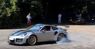 2018 porsche 911 gt2 rs. wonderful gt2 2018 porsche 911 gt2 rs donuts at goodwood throughout porsche gt2 rs