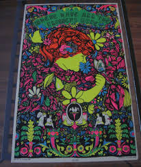 Black Light Coloring Posters Where Have All The Flowers Gone Bourne Hip Products Vintage