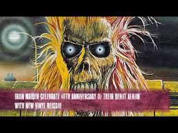 <b>Iron Maiden</b> debut album <b>40th</b> anniversary new vinyl reissue ...