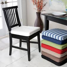 dining room tie back chair pads with dining chair back cushions