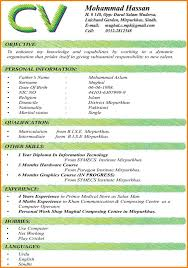 New Format For Resume 24 Latest CV Format Resume Thistulsa 18