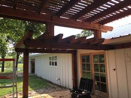 building a pergola attached to the house awesome 18 awesome pergola plans attached to house of