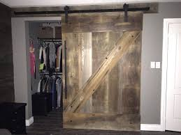 large brown z pattern closed barn door patterns sliding design ideas