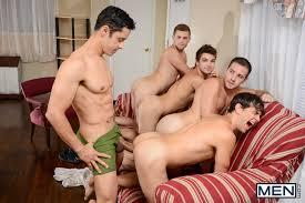 My neighbor's big orgy