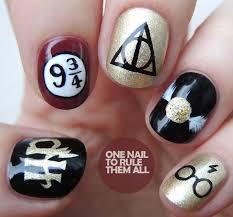 Harry Potter Nail Designs Harry Potter Nail Art Harry Potter Nails Designs Harry