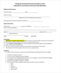 27 Letters Of Recommendation For Scholarship Pdf Doc