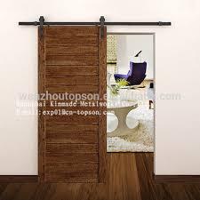 2 meter modern antique european steel wood barn sliding door hardware set