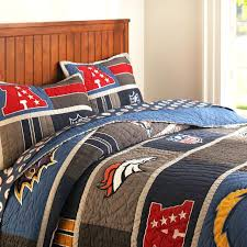 nfl bedding football bed sheets bedroom ideas bedrooms and spaces on today nfl bedding sets