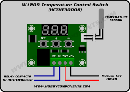 W1209 Temperature Control Switch Hcther0006 Forum