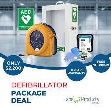 Heartsine Defibrillator Bundle Pack, Defibrillator, FREE SHIPPING DEFIB,  CPR Heart Starter