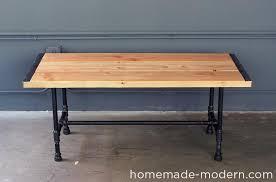 hhomemade modern diy ep68 pipe coffee table options