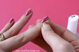 how to do gel nails at home remove any extra gel polish before curing