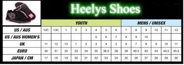 Details About Skate Shoes Kids Heelys One Wheel Roller Skating Skill Propel 2 0 Black