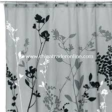 unusual idea gray and black shower curtains curtain ideas white grey bathrooms in prospect park map