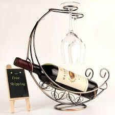 metal wine racks creative fashion metal wine rack hanging wine glass holder pirate ship shape bar