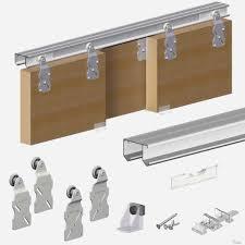 sliding cabinet door track fresh four star glass door track cabinet sliding door track with