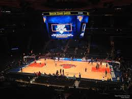 Msg Knicks 3d Seating Chart New York Knicks Madison Square Garden Seating Chart