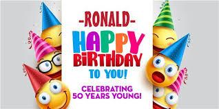 happy birthday customized banners emojicon birthday custom banner