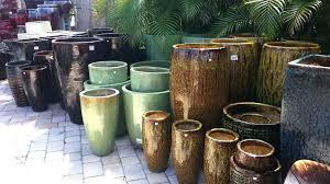 big ceramic pots red plant pots outdoor