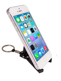 iphone keychain. smart folding stand keychain for iphone/smart phone iphone