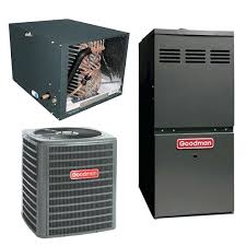 5 ton ac unit cost. 5 Ton Goodman Ac Unit Seer With Horizontal Cased Coil And Duel Stage . Cost