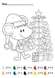 Math Worksheets for 1st Grade Christmas | Homeshealth.info