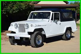 Restored 1968 Jeep Commando 4X4 Convertible Pickup Truck 225/400 for ...