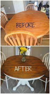 Paint A Kitchen Table 17 Best Ideas About Painted Oak Table On Pinterest Paint A