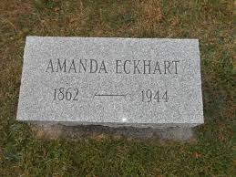Amanda Eckhart (1862-1944) - Find A Grave Memorial