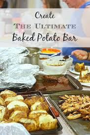 baked potato bar display. Exellent Display To  For Baked Potato Bar Display F