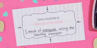 Creative Coupons For Boyfriend Funny Diy Romantic Gift Coupons Download These