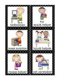 Classroom Helpers Set Free Classroom Helpers