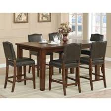 rochester 7 piece counter height rectangle dining set