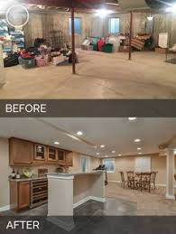 finished basement ideas before and after. Exellent After Plainfield Before U0026 After Basement Finish Project  Sebring Services With Finished Ideas And N