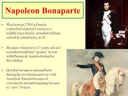 warm up write argument sentence the french revolution  5 napoleon bonaparte